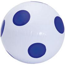 Balon hinchable topos 36 cm aprox personalizado azul