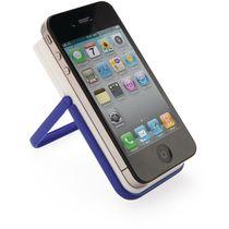 Soporte de movil con pano bolis y marcador personalizado azul