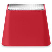 Mini altavoz bluetooth bateria recargable usb para empresas rojo
