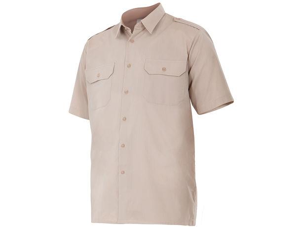 Camisa de manga corta con galoneras velilla personalizada