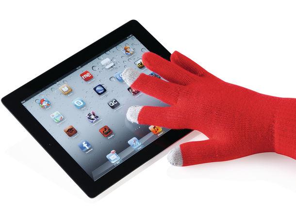 Guantes aptos para pantallas tactiles actium personalizado