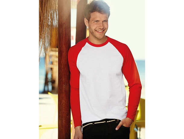 Camiseta M.Larga Fruit Of The Loom 160 gr