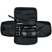 Set de herramientas en funda pu personalizado negro