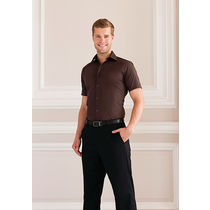 Camisa entallada de manga corta de hombre russell 140 personalizada