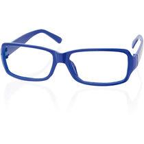 Montura de gafas con funda personalizada azul
