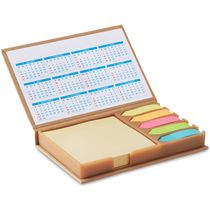 Set de notas y calendario personalizado