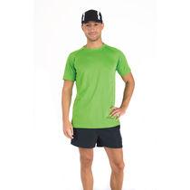 Camiseta tecnica running montecarlo roly 140 original verde helecho