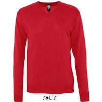 Jersey con cuello v de hombre galaxy men sols 240 original rojo