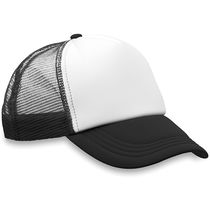 Gorra baseball de rejilla barata negro