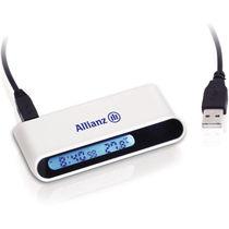 Reloj despertador con 4 puertos usb 2 0 personalizado