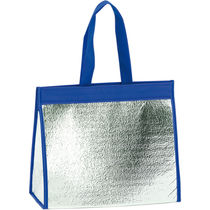 Bolsa nevera en aluminio personalizada azul