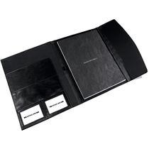Carpeta nylon y polipiel grande antonio miro personalizada negro
