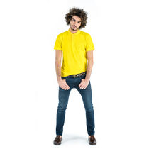 Polo pique de 100 algodon austral roly 180 personalizado amarillo