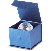 Pisapapeles bola de cristal personalizado transparente