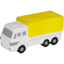 Camion antiestres mediano personalizado amarillo