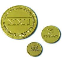 Moneda chocolate personalizada