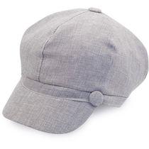 Gorra elegante de vestir pelo largo danae personalizada gris