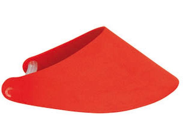 Visera de eva sunday barata rojo