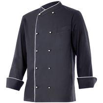 Chaqueta cocinero manga larga con botones dobles velilla personalizada