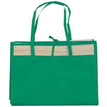 Bolsa esterilla barata verde