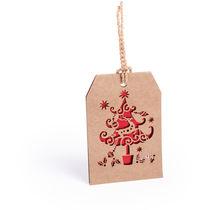 Adorno postal navidena en suave carton personalizado