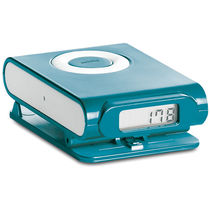 Podometro con forma de ipod barato azul