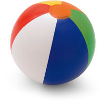 Balon playa hinchable multicolor 33 cm aprox personalizado