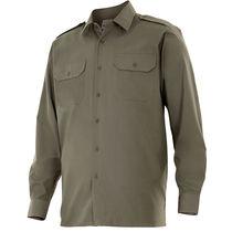 Camisa de manga larga con galoneras velilla personalizada