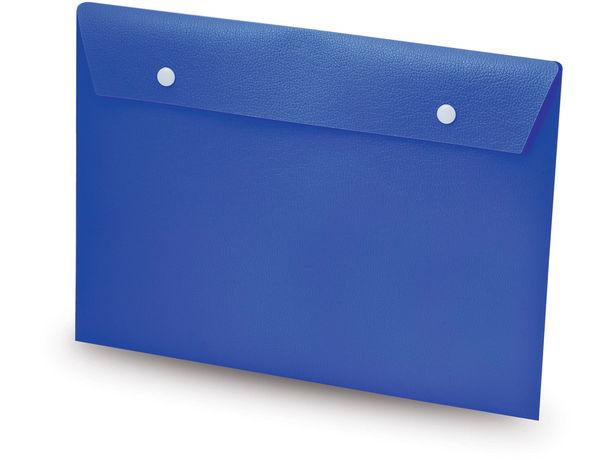 Sobre carpeta en pvc personalizado azul