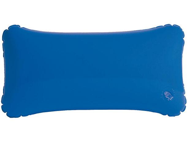 Almohadilla de playa lisa personalizada azul