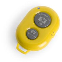 Disparador remoto bluetooth personalizado amarillo
