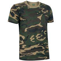 Camiseta camuflaje jungle 185 personalizada