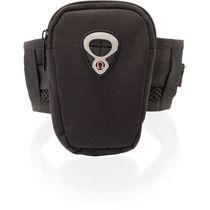 Funda mp3 con brazalete de brazo personalizada negro