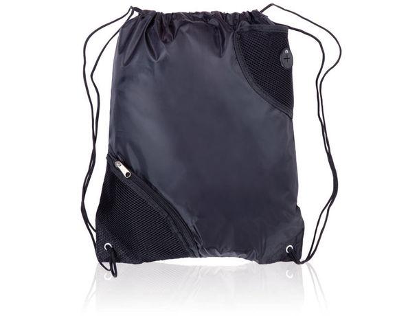 Mochila saco poliester 210d con bolsillos personalizada