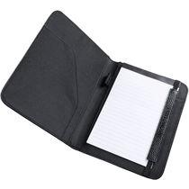 Carpeta polipiel con bloc antonio miro personalizada negro