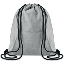 Bolsa de cuerdas con bolsillo personalizado