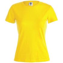 Camiseta mujer 150 gr m2 algodon ring spun de mujer 150 personalizada