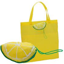 Bolsa compra plegable sandia y limon personalizada limon