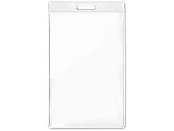 Identificador transparente 7 5 x 12 5 cm barato transparente