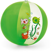 Balon playa hinchable decorado divertido personalizado verde claro
