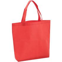 Bolsa en non woven grande barata rojo