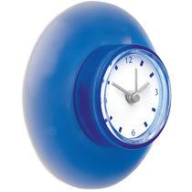 Reloj de plastico con ventosa personalizado azul