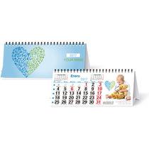 Calendario 2017 de mesa con espiral 22 x 9 5 cm personalizado