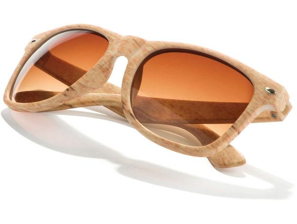 e841e5dfe8 Gafas de sol imitación madera uv400.