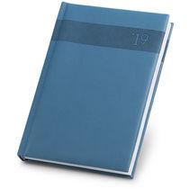 Agenda pix de polipiel 17 5 x 24 7 cm sv personalizada azul