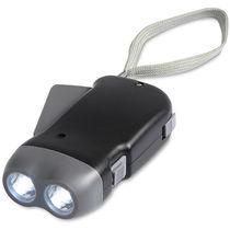 Linterna dinamo 2 luces led personalizada