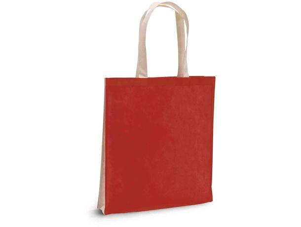 Bolsa en non woven bicolor personalizada