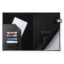 Carpeta antonio miro con bloc de nota y bolsillo interior personalizada