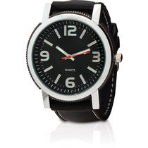 Reloj correa de silicona lenix personalizado negro