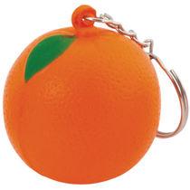 Llavero naranja antiestres personalizado